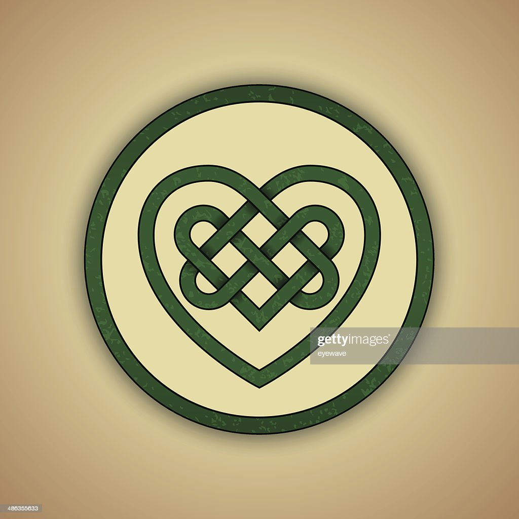 Celtic Heart Knot Symbol of Love