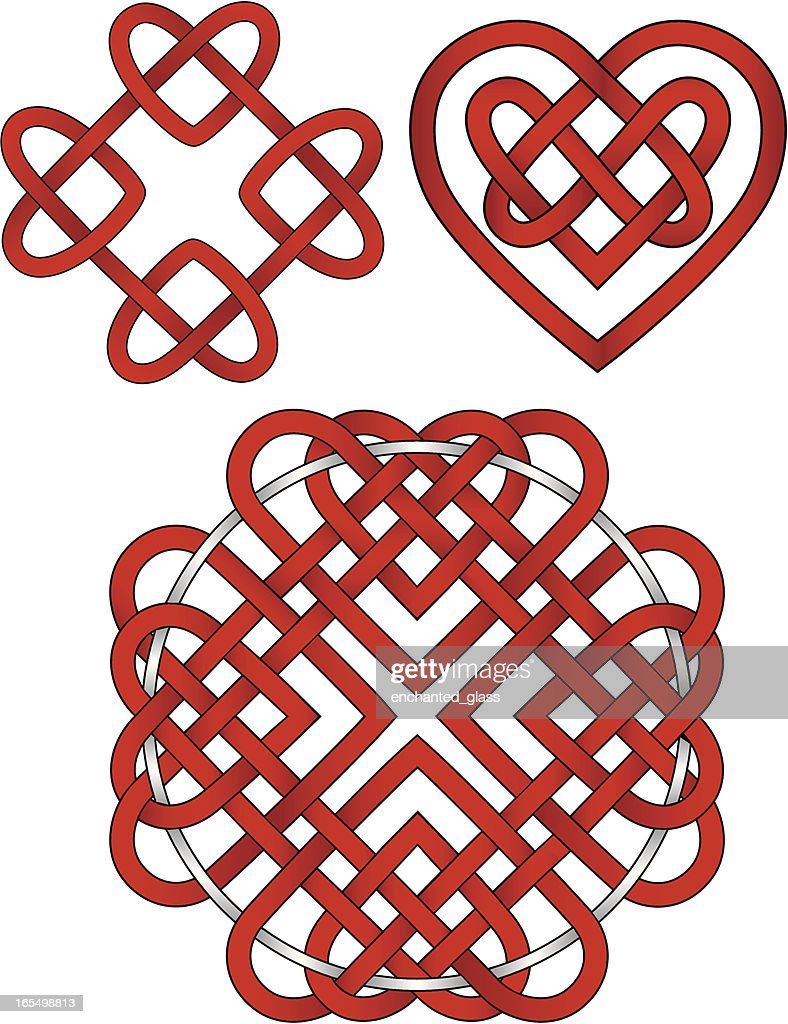 Celtic Heart Knots