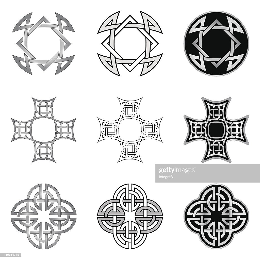 Celtic Knot Patterns And Templates Vector Art Getty Images