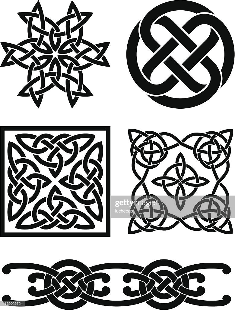 Celtic knots : stock illustration