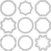 Celtic ornamental rings