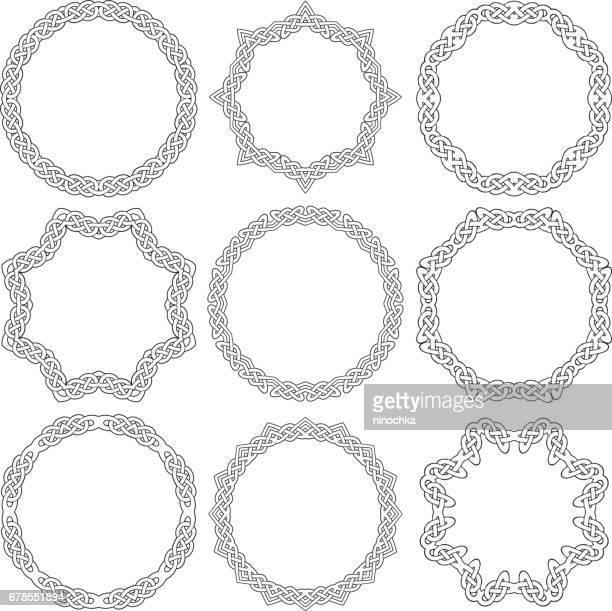 ケルトの装飾リング - ケルト風点のイラスト素材/クリップアート素材/マンガ素材/アイコン素材