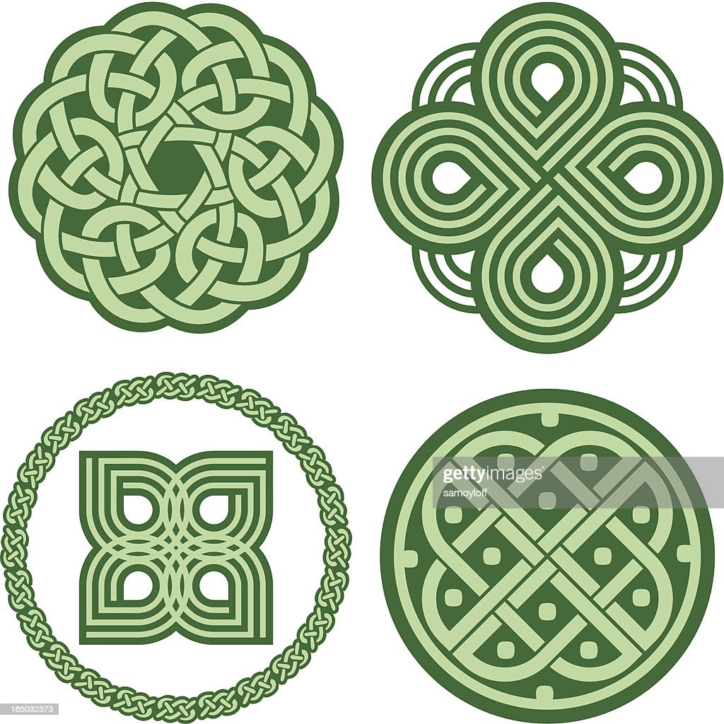 Celtic ornaments (Vector)