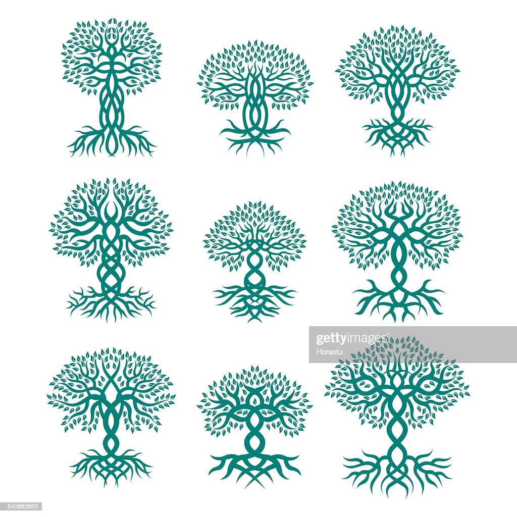 Celtic tree logos