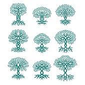 Celtic tree logos
