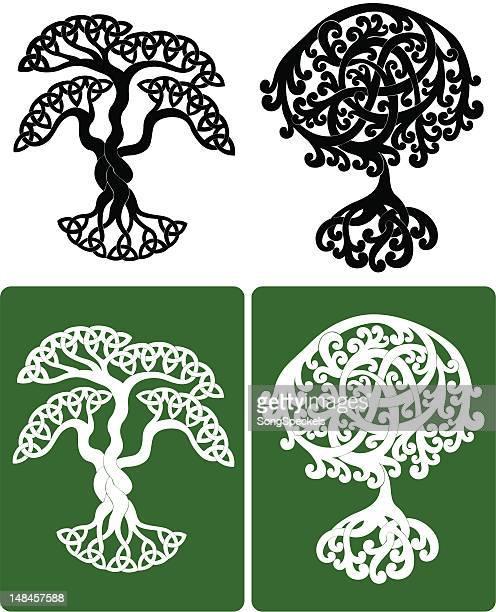 ケルトの木 - ケルト風点のイラスト素材/クリップアート素材/マンガ素材/アイコン素材