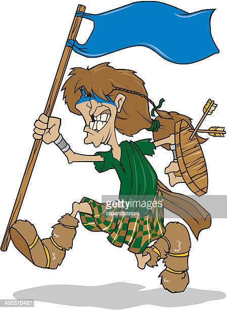Celtic Warrior With Flag