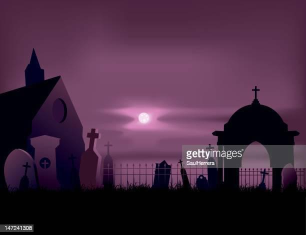 墓地の墓 - クリプト点のイラスト素材/クリップアート素材/マンガ素材/アイコン素材