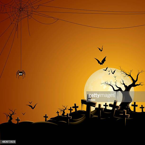 ilustrações, clipart, desenhos animados e ícones de cemitério - cemitério