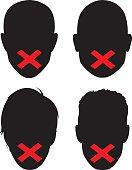 Censorship Faces