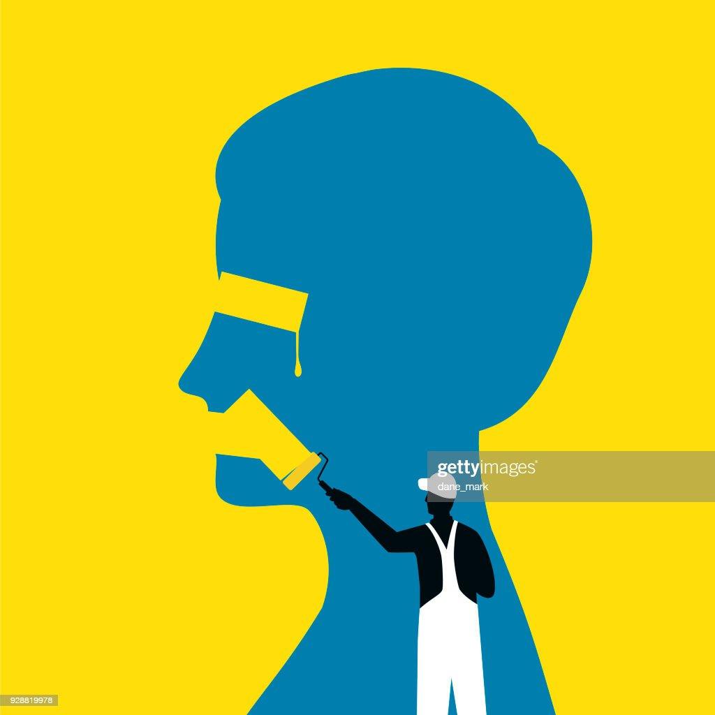 Censorship Illustration