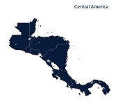 Central America map.
