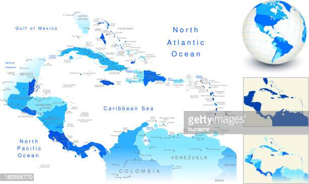 Caribbean Sea Premium Stock Illustrations - Getty Images