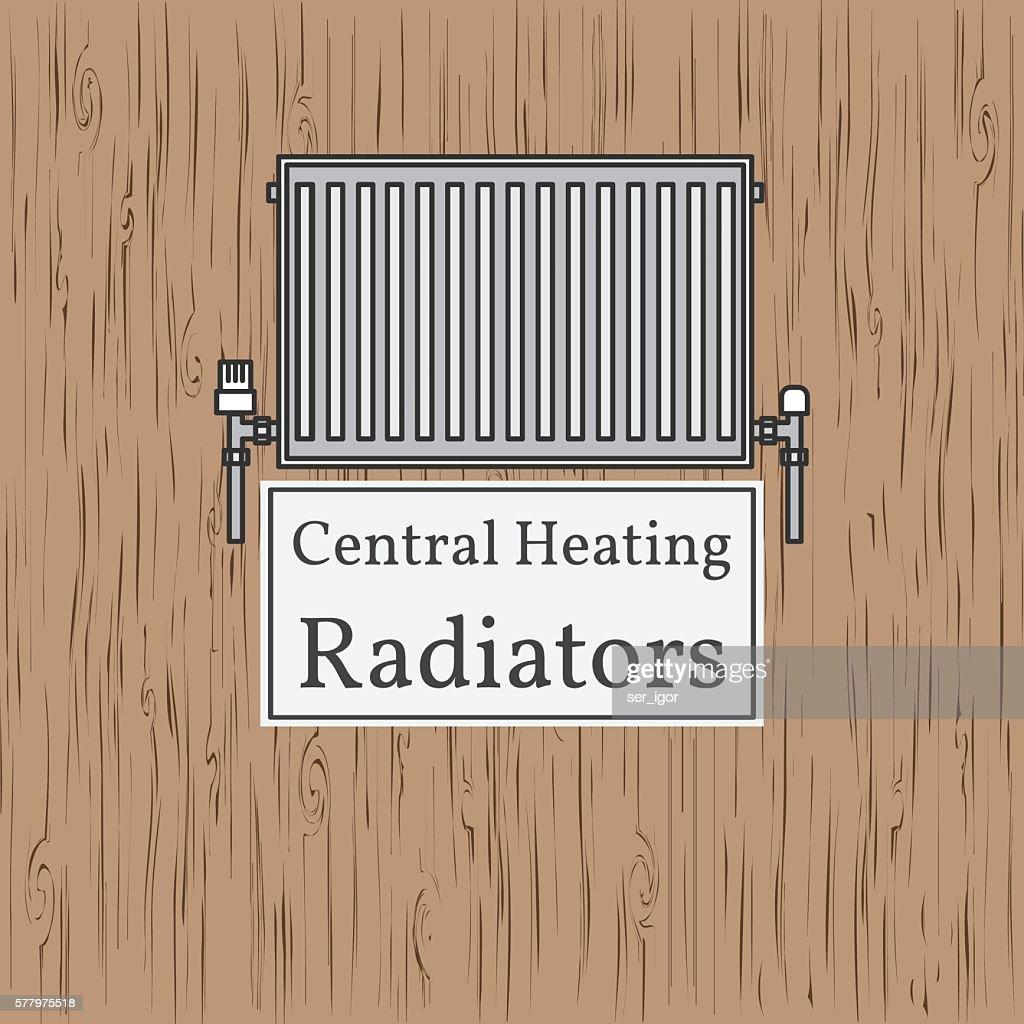 Central Heating Radiators badge.