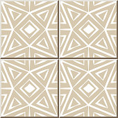 Ceramic tile pattern 332 octagon triangle check cross geometry