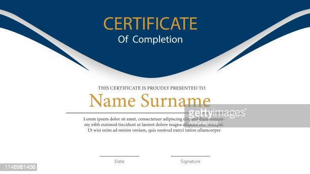certificate background - certificate stock illustrations