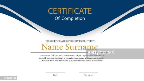 ilustrações, clipart, desenhos animados e ícones de fundo do certificado - diagrama