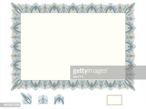 Certificate Border Vector Art | Getty Images
