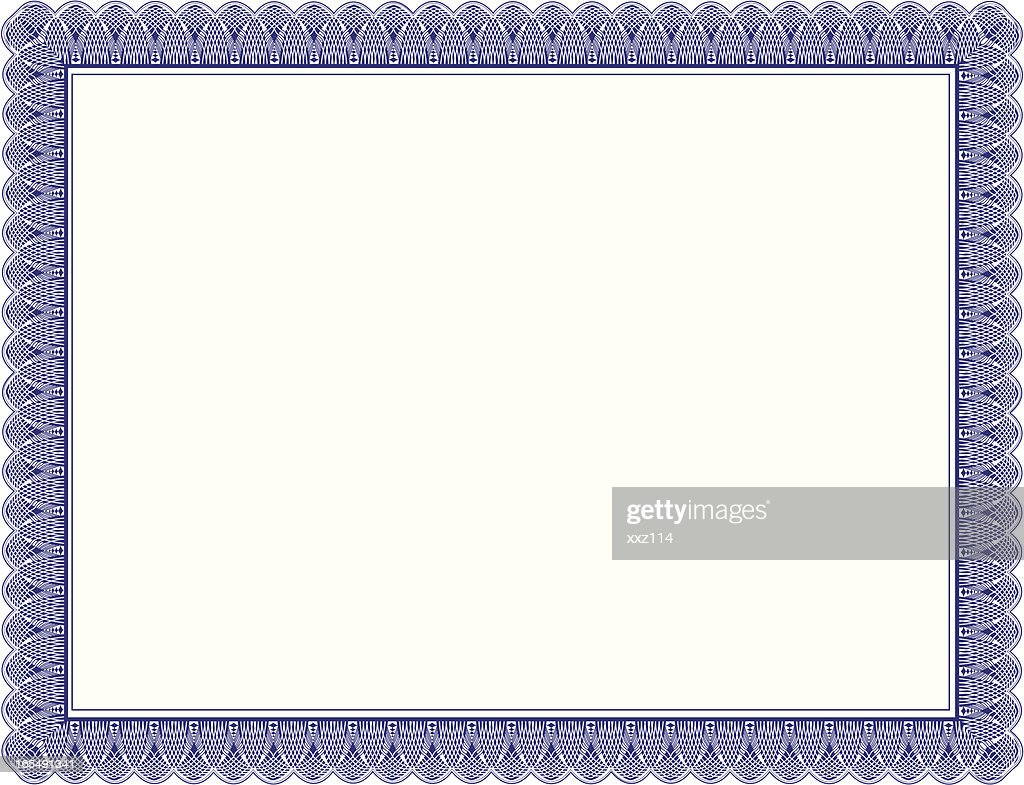 Certificate border vector art getty images certificate border vector art 1betcityfo Images