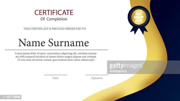 Certificate Card Background