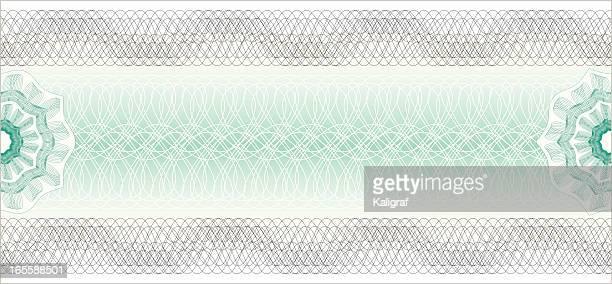 券ギロッシュチケット - モアレ縞点のイラスト素材/クリップアート素材/マンガ素材/アイコン素材