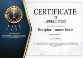 Certificate template design, Modern certificate border