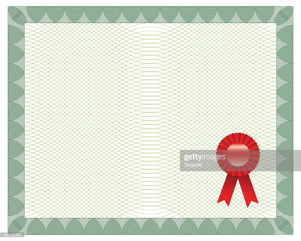 Certificate With Seal