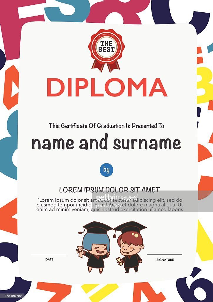 Certificates kindergarten and elementary and secondary education..
