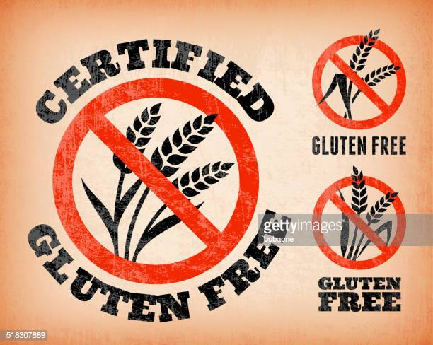 60 Top Gluten Free Icon Stock Illustrations, Clip art, Cartoons
