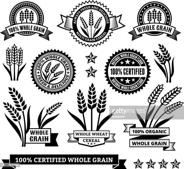 Certificados sem glúten sinais & Banners