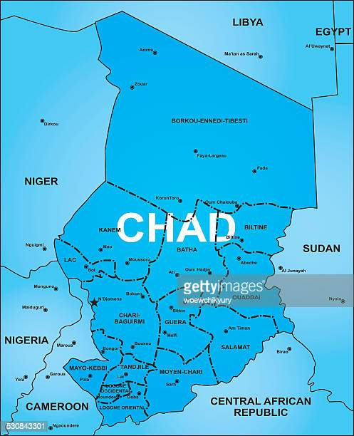 60 Top Chad Stock Illustrations, Clip art, Cartoons, & Icons - Getty Chad Africa Map on