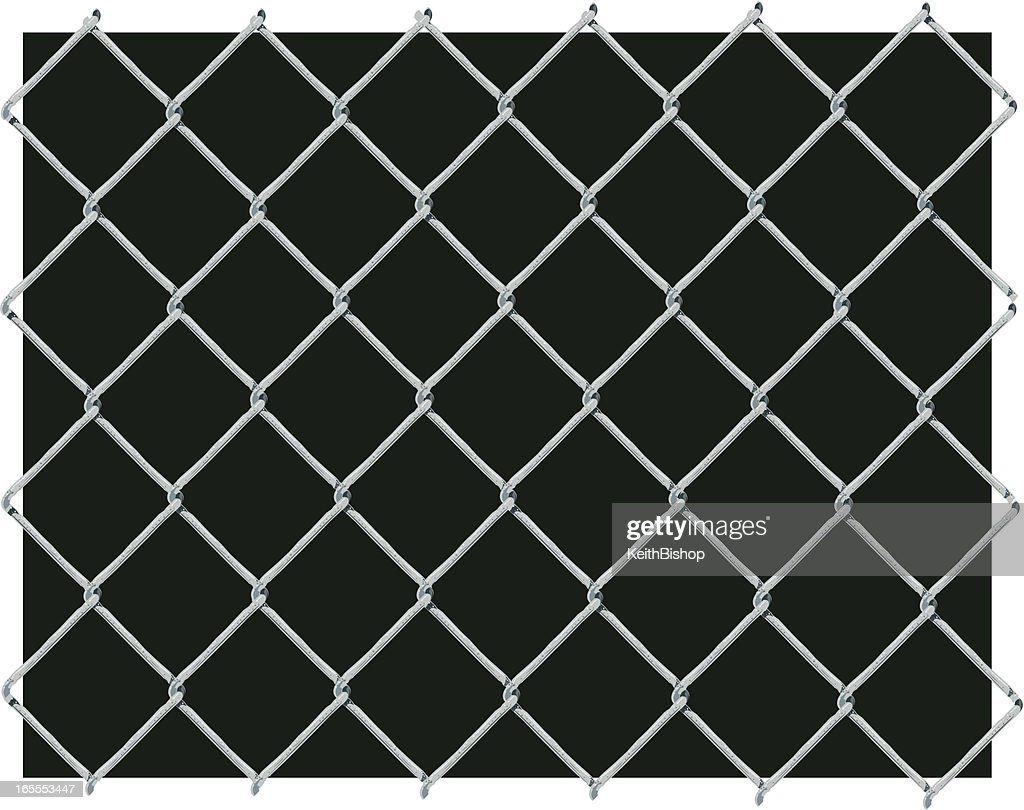 chain link fence background. Beautiful Fence Chain Link Fence Background  Vector Art On C