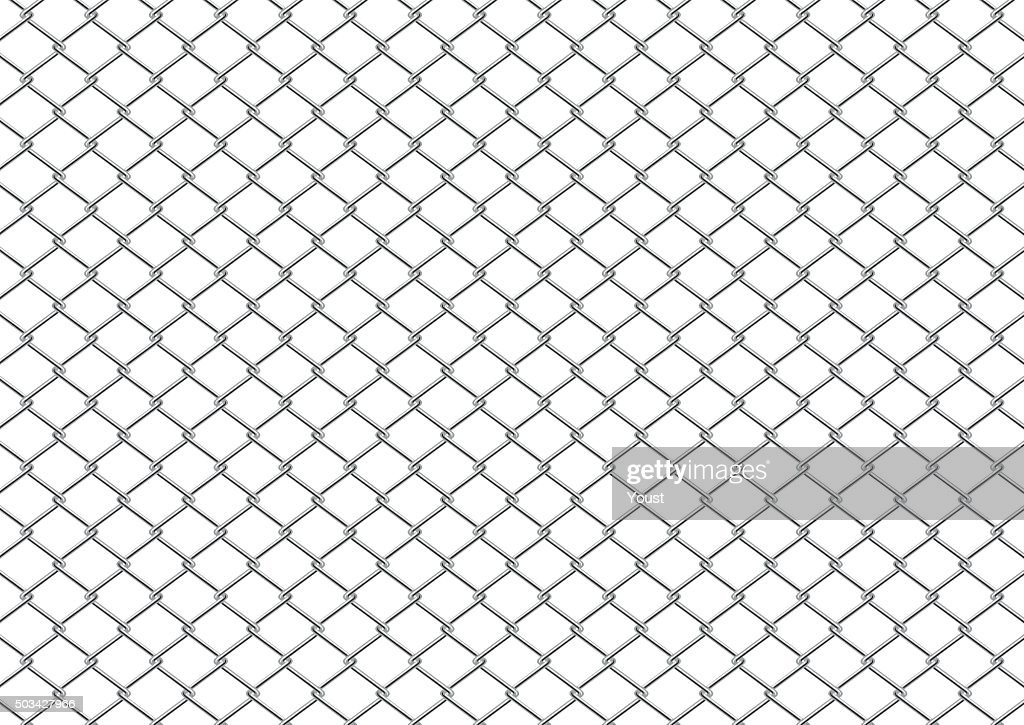Chain Link Fence : stock illustration