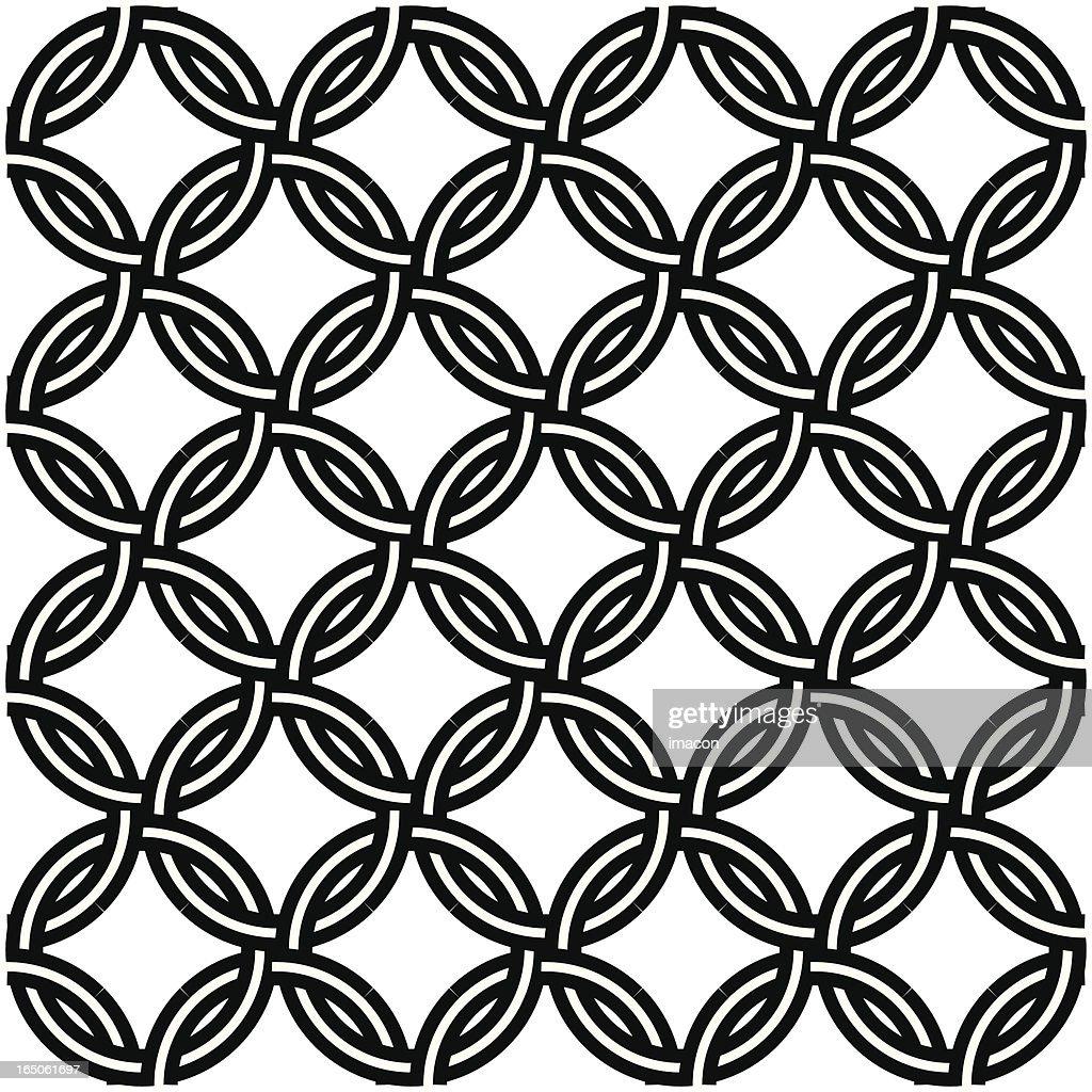 Chain Mail Seamless Design Tattoo stock illustration - Getty