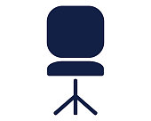 chair icon glyph