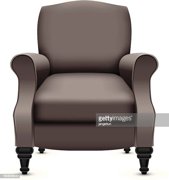 chair - chaise stock illustrations, clip art, cartoons, & icons