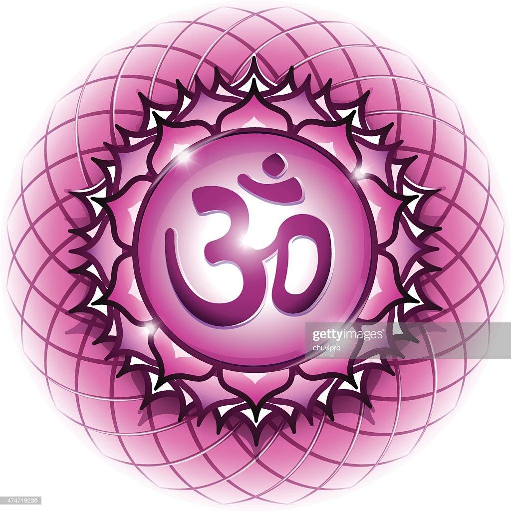 Chakra symbol 7 sahasrara vector art getty images chakra symbol 7 sahasrara buycottarizona Image collections