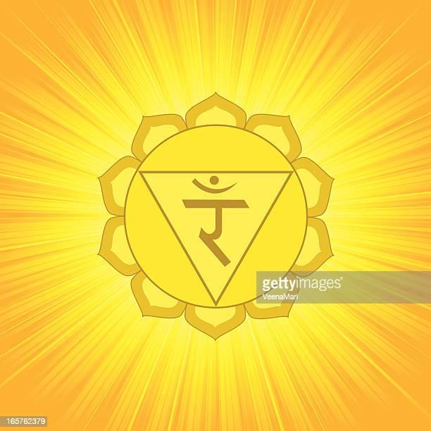 illustrations, cliparts, dessins animés et icônes de chakra symbole - 3 - chakra