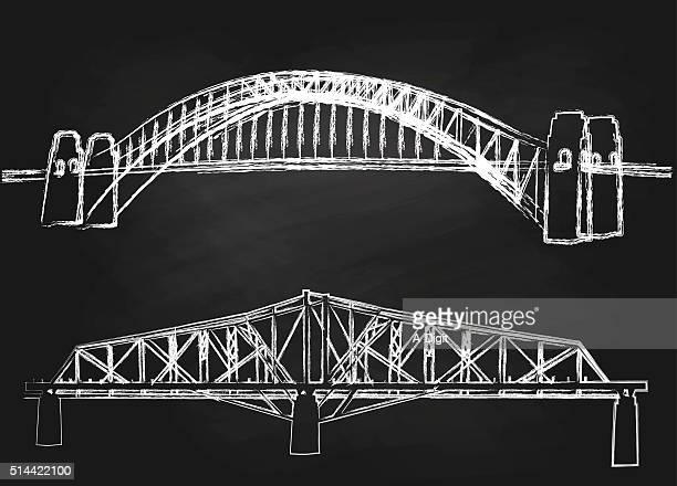 チョークシドニーブリッジ