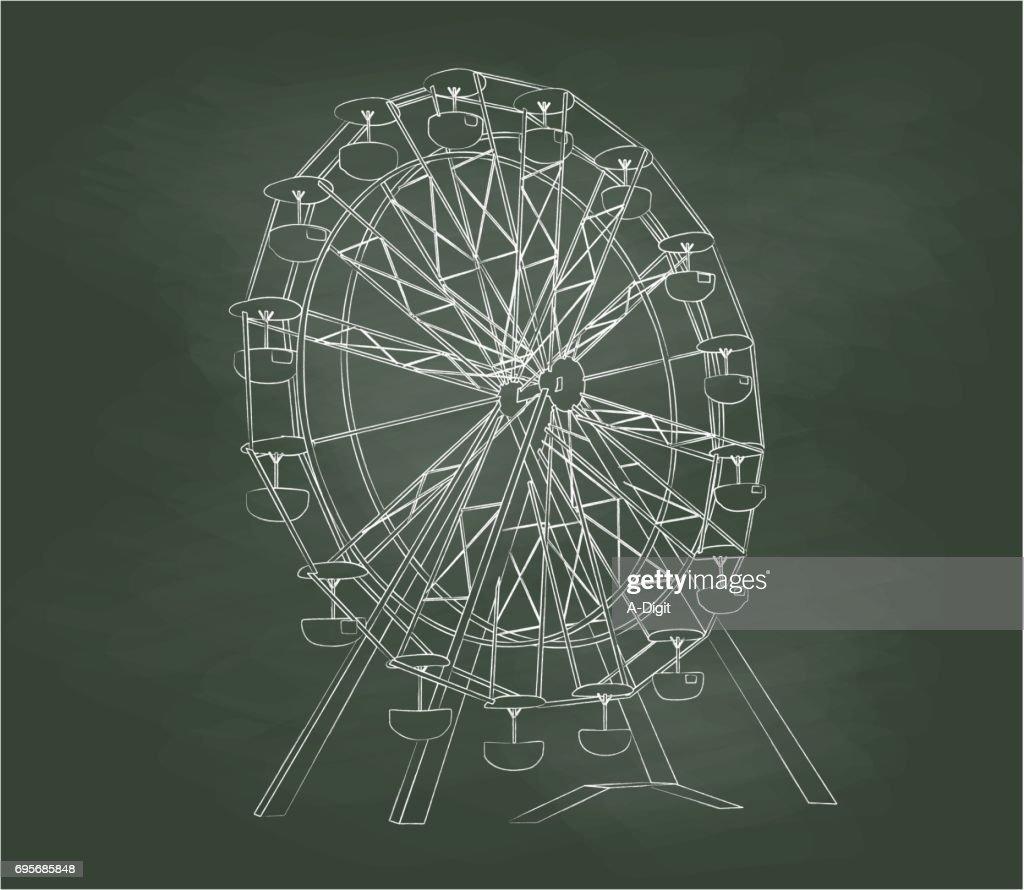 Chalkboard Ferris Wheel