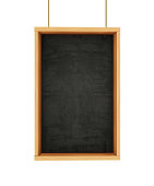 Chalkboard on Ropes