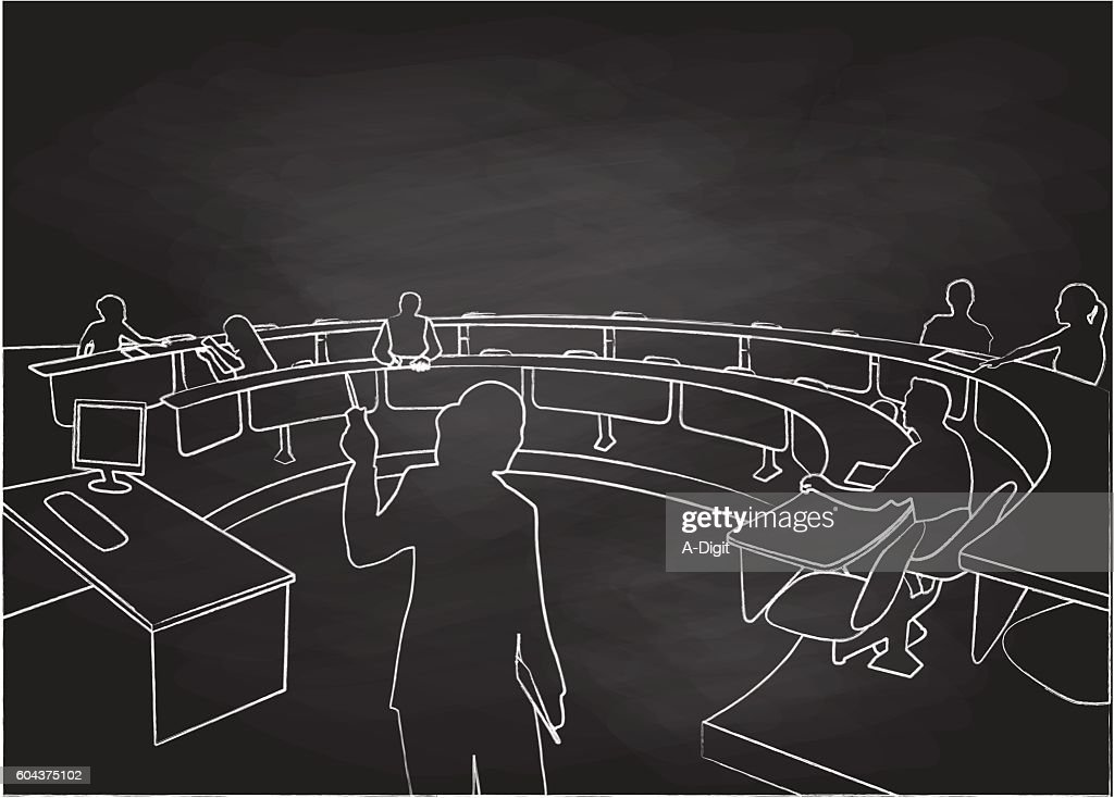 Chalkboard Student Lecture Hall