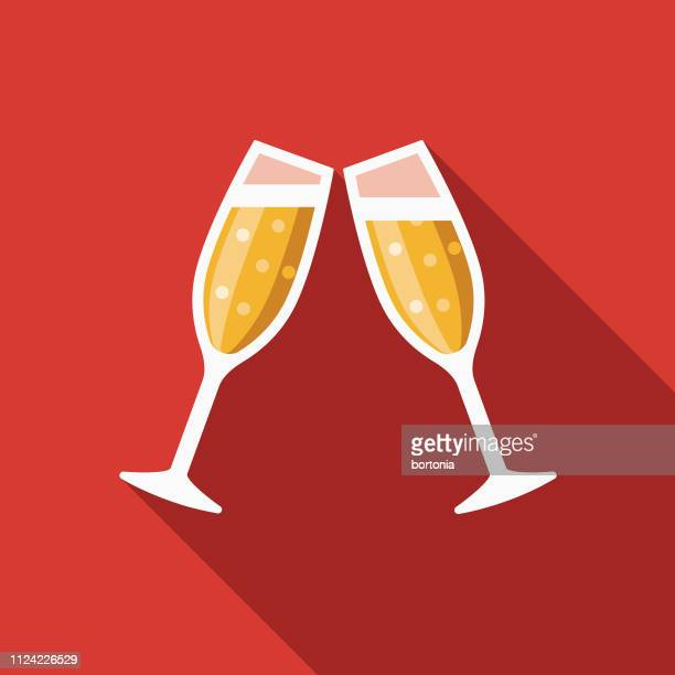 champagne movie icon - champagne flute stock illustrations
