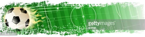 illustrations, cliparts, dessins animés et icônes de bannière de championnat - ligue professionnelle nord américaine de football