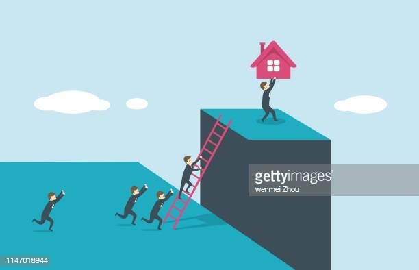 championship - housing development stock illustrations