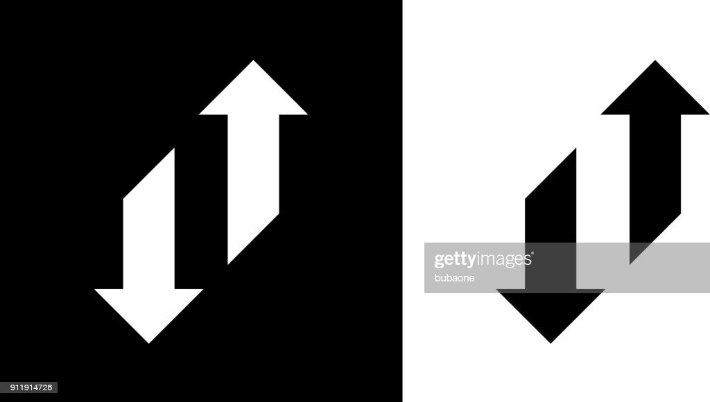 Change Arrows Up And Down. : stock illustration