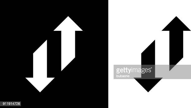 change arrows up and down. - change stock illustrations
