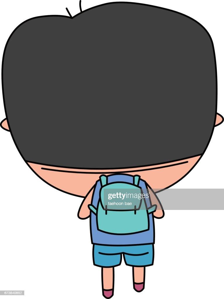 Character head big