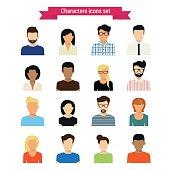 Characters set