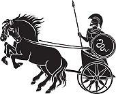 chariot; gladiator